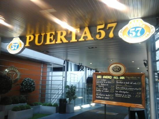 Foto de puerta 57 madrid restaurante puerta 57 madrid for Puerta 57 restaurante