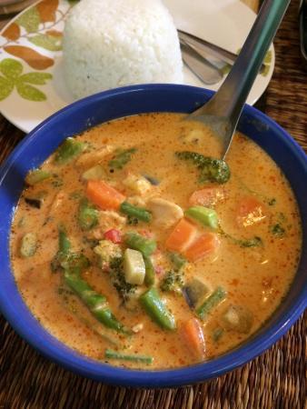 Comida Thai : Red Curry