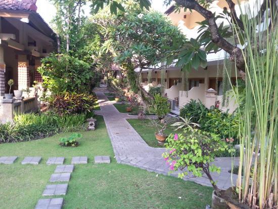 مينتاري سانور هوتل: View of garden rooms