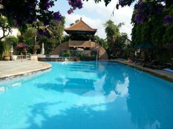 مينتاري سانور هوتل: Pool area