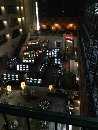 Hotel Pueblo Amigo Plaza & Casino: View from 3rd floor.