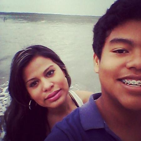 with my sister in the beach (MALIBU BEACH HOSTEL)