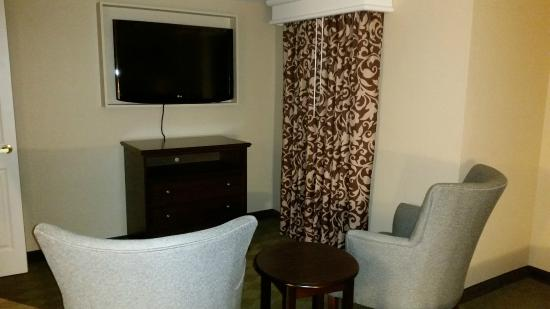 Homewood Suites by Hilton Olmsted Village (near Pinehurst): Also part of the bedroom