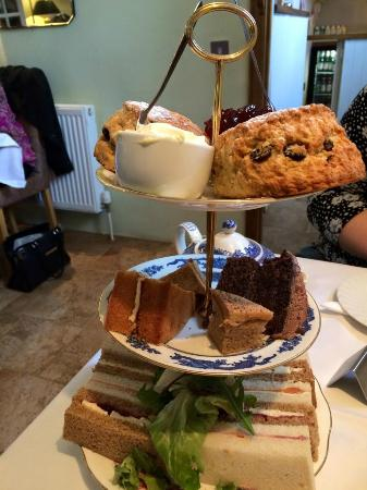 The Granary at Fawsley: Our Afternoon Tea