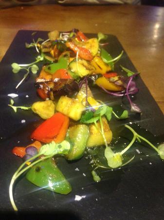 Asador La Vinoteca: Parrillada de verduras