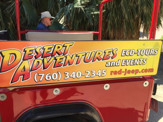 Desert Adventures Red Jeep Tours: Fun jeep tours but go in am