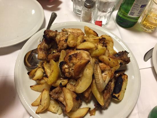 pollo scucchiato - Picture of La Terrazza, Mercato San Severino ...