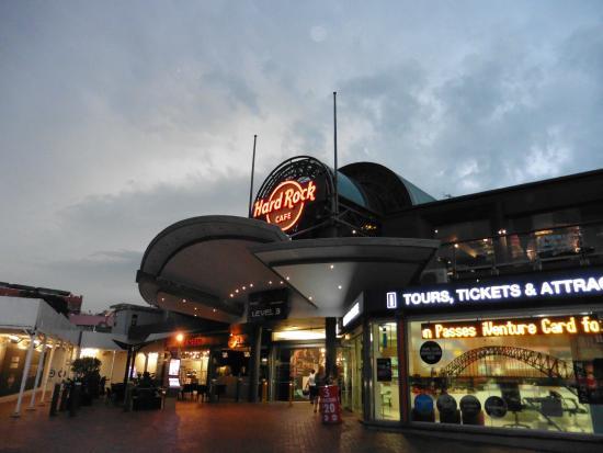 Hard Rock Cafe Sydney Address