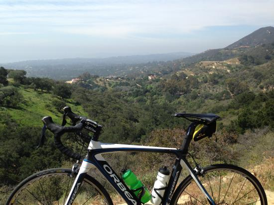 Cal Coast Adventures: Full carbon Orbea with Ultegra rented from Santa Barbara Fitness Tours