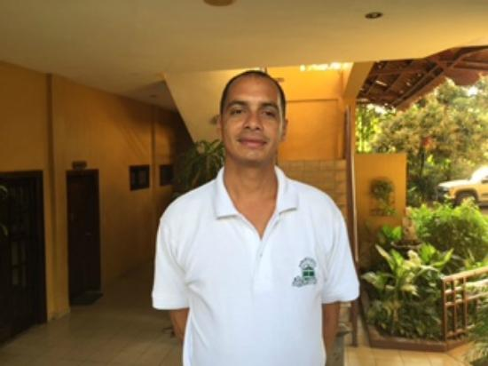 Aparthotel La Cordillera: Juan Carlos - One of the exceptional staff members.