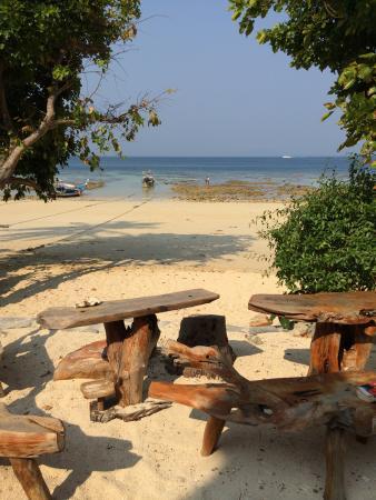 Rantee Cliff Beach Resort: Utsikt över den vackra stranden