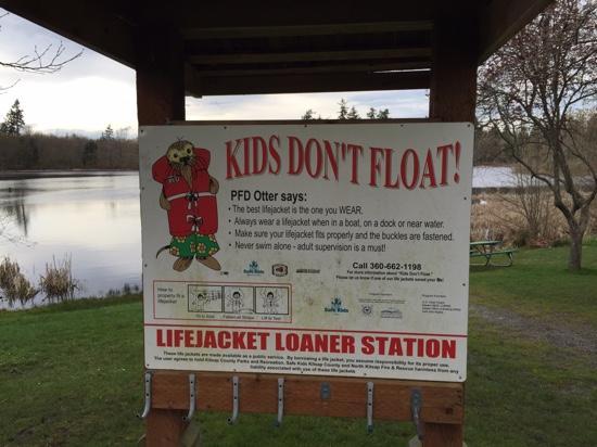 Buck Lake County Park: kids