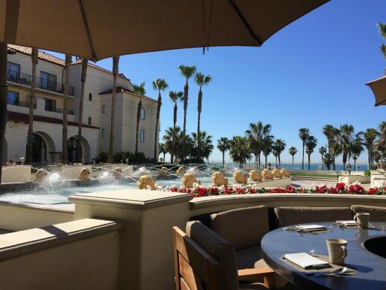 Hyatt Regency Huntington Beach Resort Spa Hotel Restaurant At Breakfast