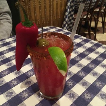 The Old Clam House: Chili Mary Vodka