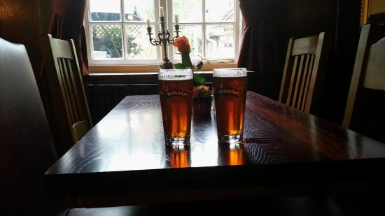 The New Inn and Old House: Local brew