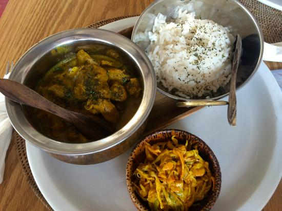 Cafe Napoleon: Great curry dish