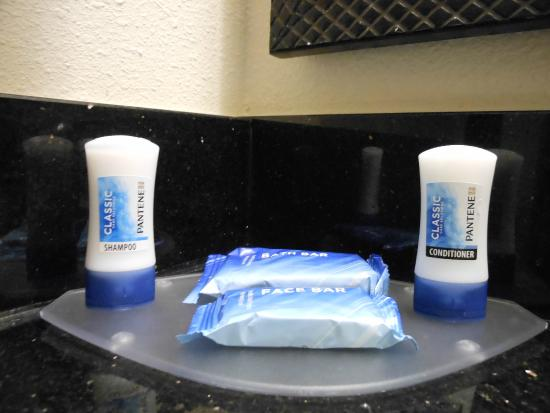 Fairfield Inn & Suites Houma: pantene, not a fan