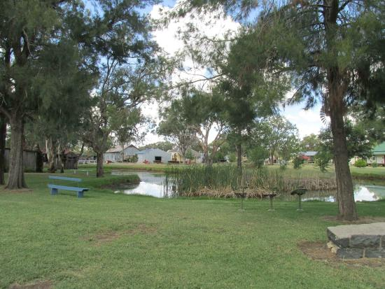 Inverell Pioneer Village: Part of the grounds