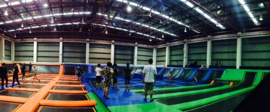 Trampoline Vertical-Wall-Walking - Picture of Jump Street ...