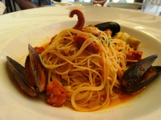 sea food spaghetti