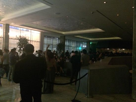 The Line : Lobby party- VERY LOUD
