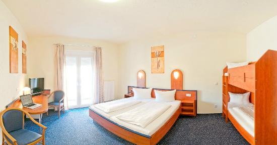 Apollon Hotel : Familienzimmer - Vierbettzimmer