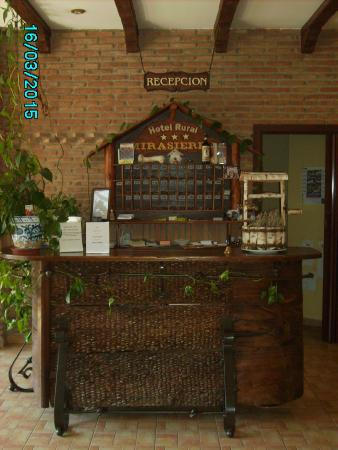 Hotel Rural Mirasierra: Receptie