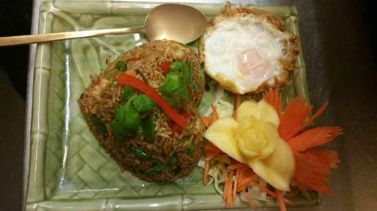 Baan Thai: spicy fried rice