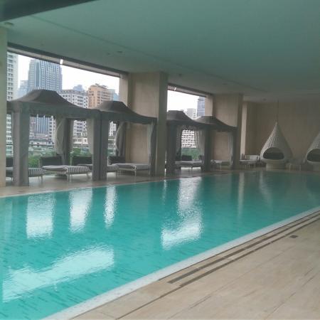 Oriental Residence Bangkok: Oriental residence: as for design,  impressive.
