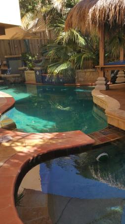 Beach Manor Bed and Breakfast Perth: The mineral pool