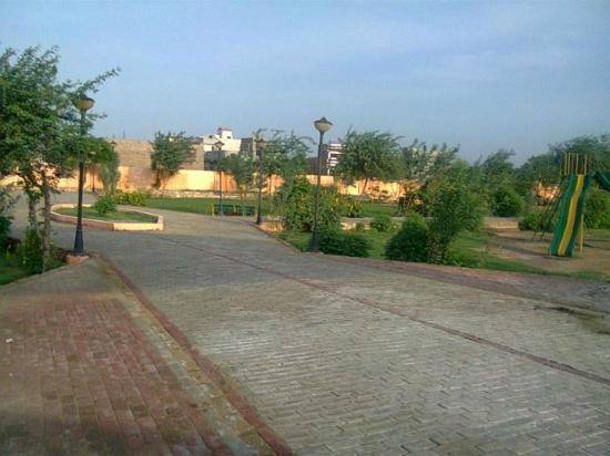 Mirpur Khas, Pakistan: Nazeer Hussain Park