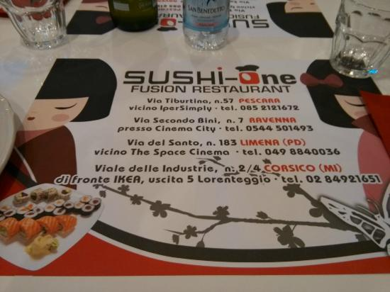 All you can eat - Picture of Sushi-One, Limena - TripAdvisor