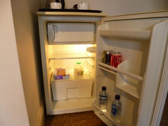 Martel Guest House: spotless fridge