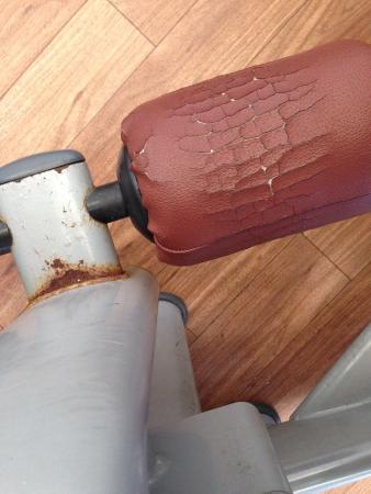 David Lloyd: Rusty old equipment