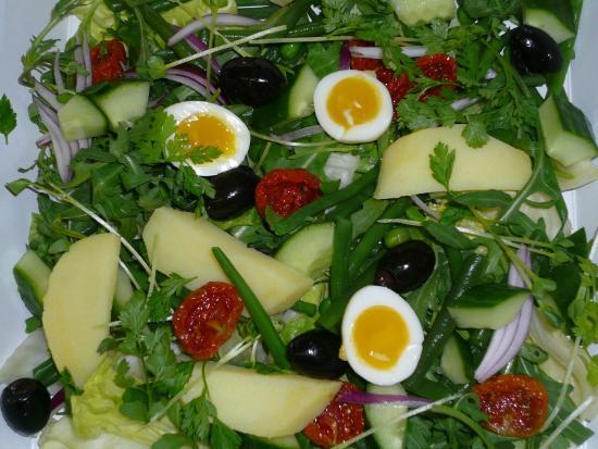 Tugalik: les salades