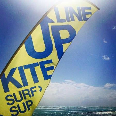Line Up Kite Barbados