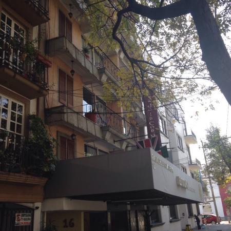 La Condesa: Amei esse hotel, com o nome do bairro.