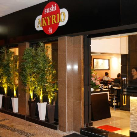 Fachada do restaurante foto de sushi akyrio rio de for Fachada para restaurante