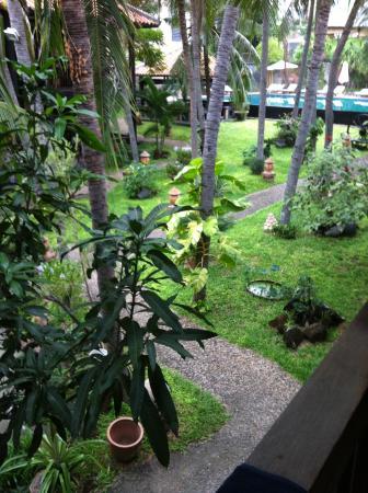 Lotus Village Resort: Вид с балкона номера на втором этаже