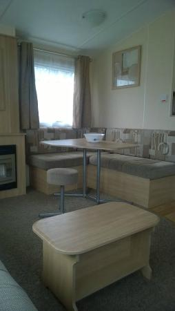 Seadown Holiday Park: Living/Dining
