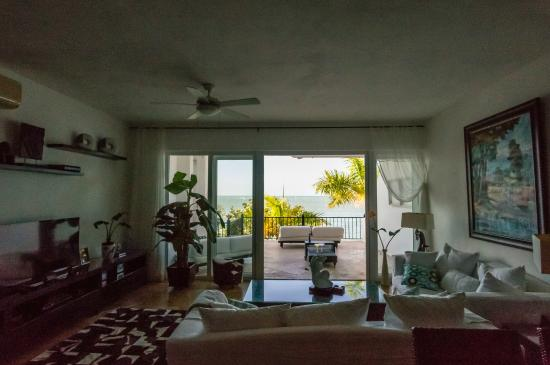 Beach Palace Cabarete: unit 10 living area