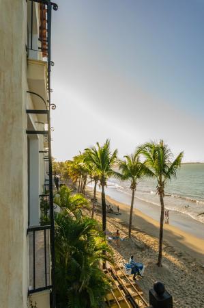 Beach Palace Cabarete: view from balcony, unit 10