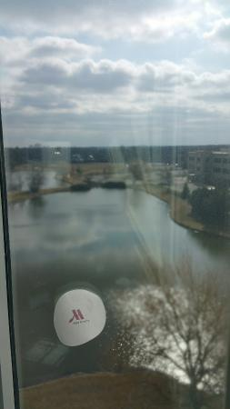 Chicago Marriott Southwest at Burr Ridge: ....the awesome view from my room at the Marriott in Burr Ridge.