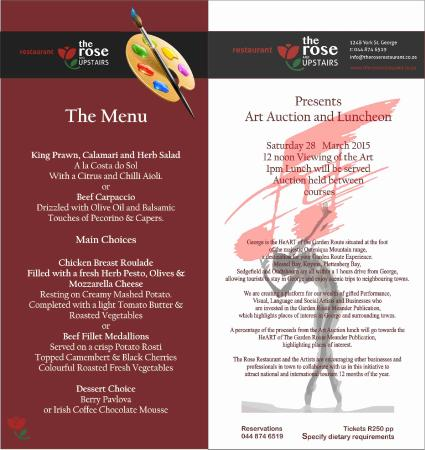 The Rose on York Restaurant : 28 March 2015