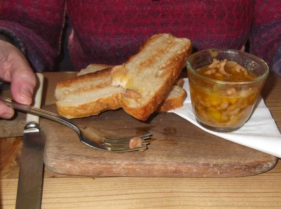 The Taverners: Potted shrimps and toast