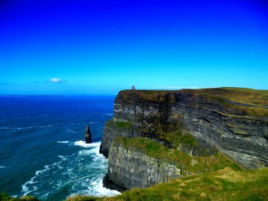 Liscannor, Irland: cliffs