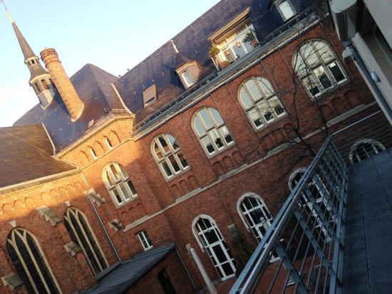Collegium Leoninum Hotel : Vista da sacado do quarto.