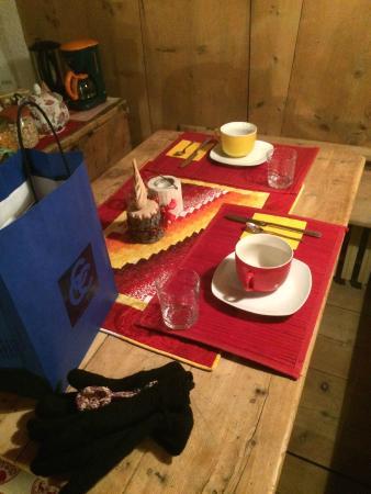 Bed & Breakfast Campaciol: La sala colazione.