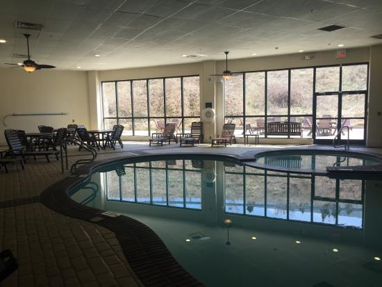 Hampton Inn Charleston - Southridge: Pool area