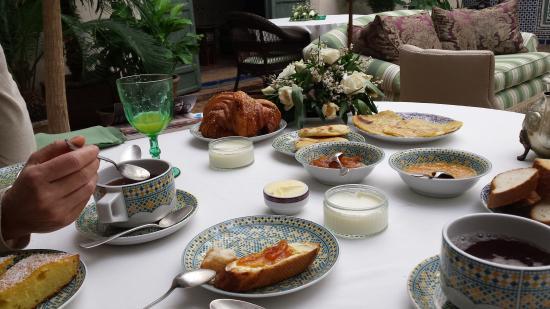 Dar al Assad: Petit déjeuner